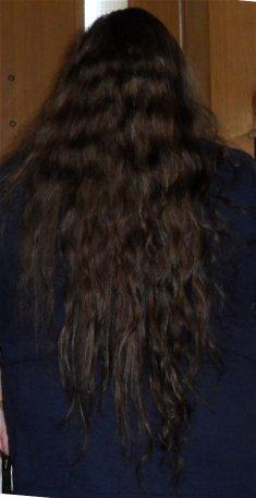 My hair, August 2011