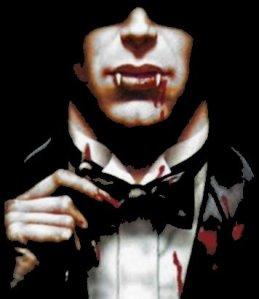 Smart Dressed Vampire Gentleman
