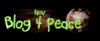 Annual November 4 Blog Blast for Peace