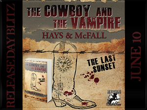 The Last Sunset - The Cowboy and the Vampire Button 300 x 225
